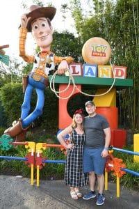 Mitchell & Megan @ Toy Story Land, Hollywood Studios, Walt Disney World, FL