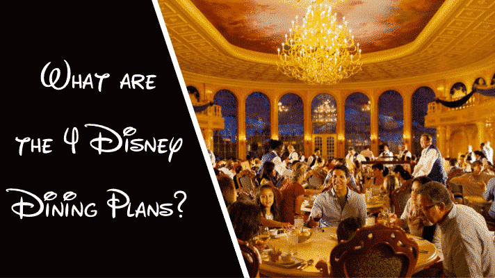 What are the 4 Disney Dining Plans? | Be our Guest Restaurant at Magic Kingdom Park