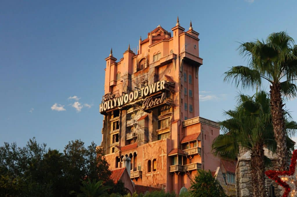 The Tower of Terror @ Hollywood Studios, Walt Disney World, FL