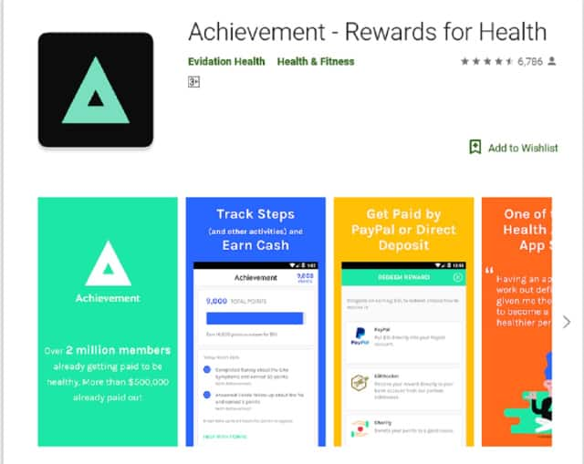 Achievement App | Earn money for being fit by using the Achievement app