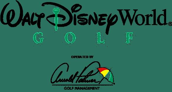 Walt Disney World Golf Logo | Disney Golf Courses are operated by Arnold Palmer Golf Management