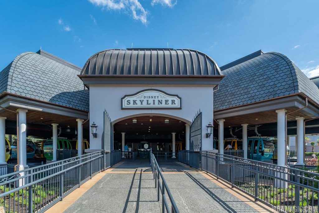 Disney Skyliner Riviera Station | Services Riviera Resort on the Epcot Route