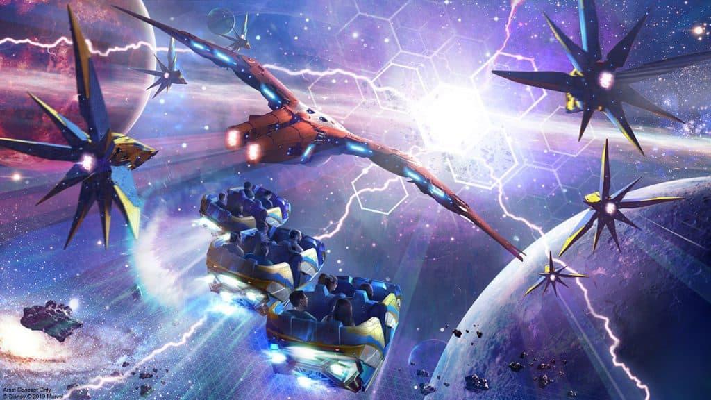 Guardians of the Galaxy: Cosmic Rewind | Concept Art