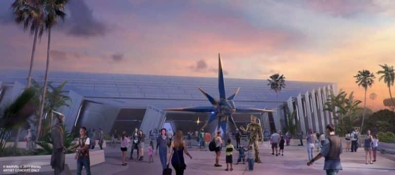 Guardians of the Galaxy Roller Coaster Visualization | Epcot, Walt Disney World