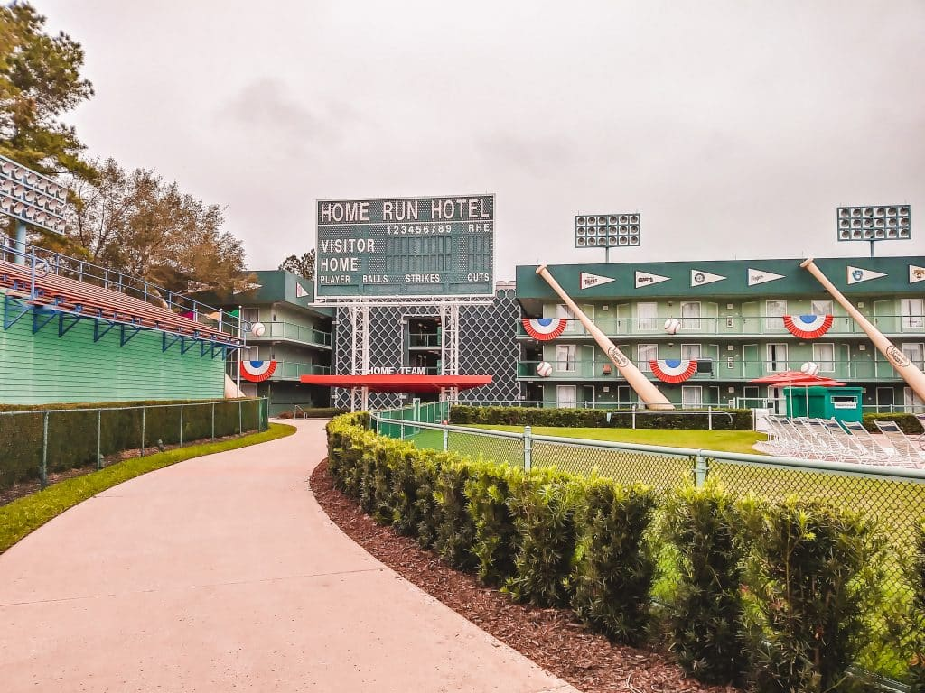 Home Run Hotel features the Grand Slam Pool at All Star Sports Resort