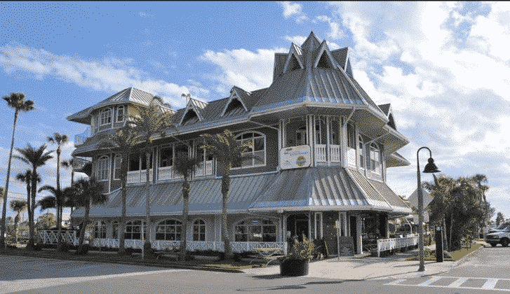 The Hurricane Seafood Restaurant at historic Pass-a-Grille Beach in St. Pete, FL