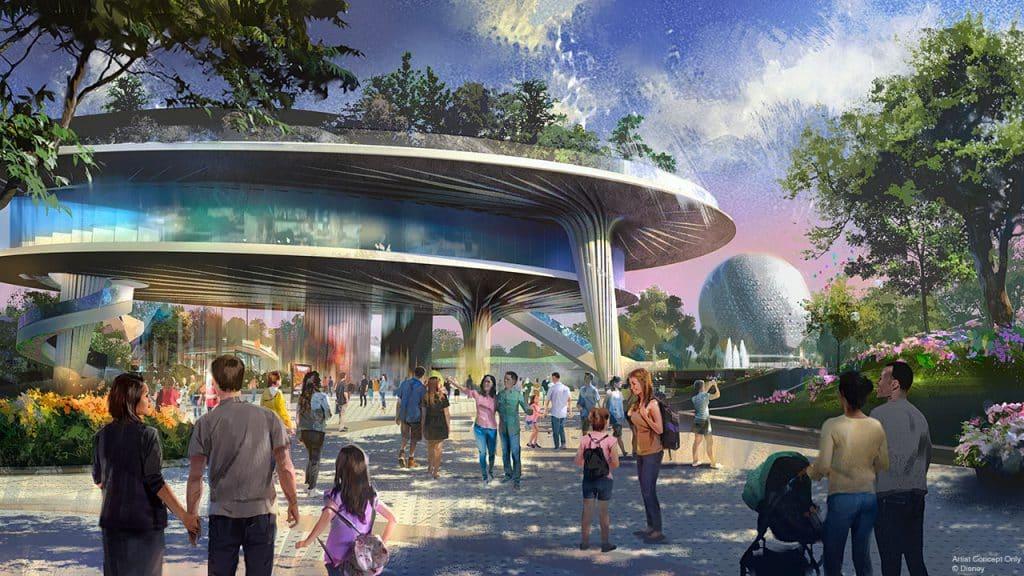 Live Event Pavilion Concept Art | Epcot, Walt Disney World