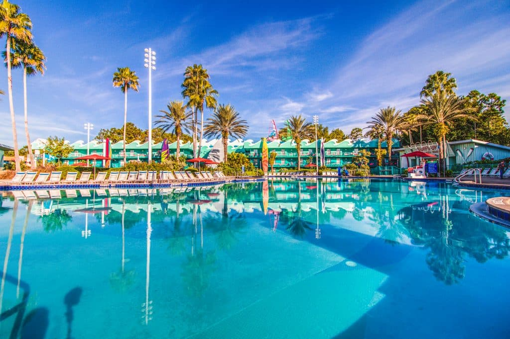 Surfboard Bay is located directly behind the Stadium Hall in the Surf's Up guest area