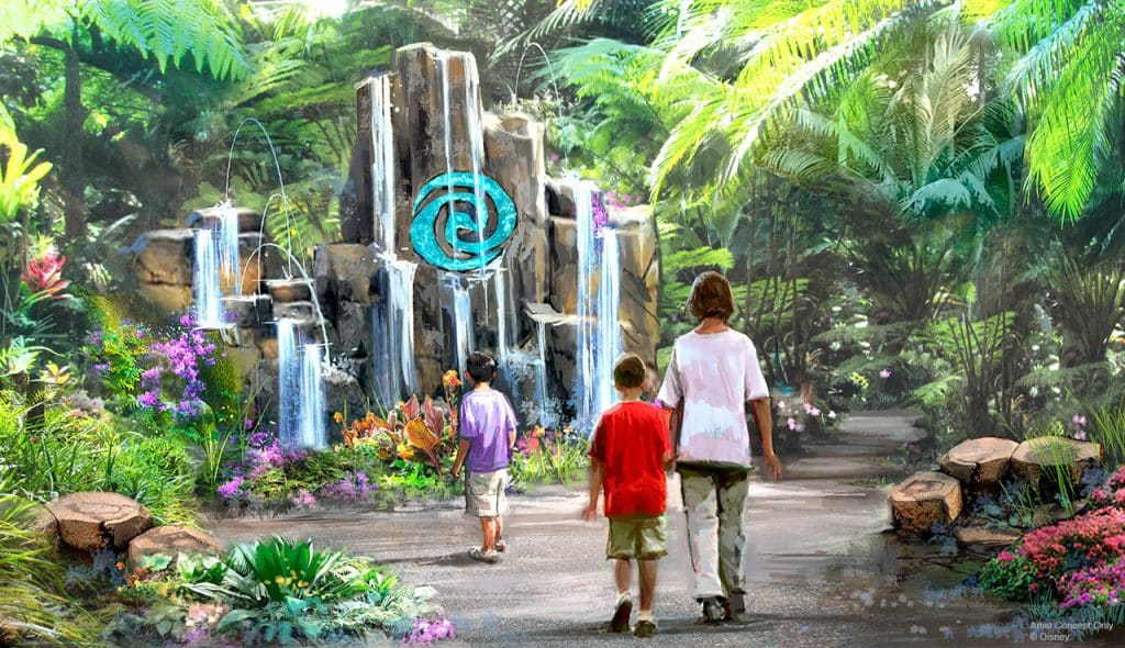 Moana Attraction Concept Art | World Nature, Epcot