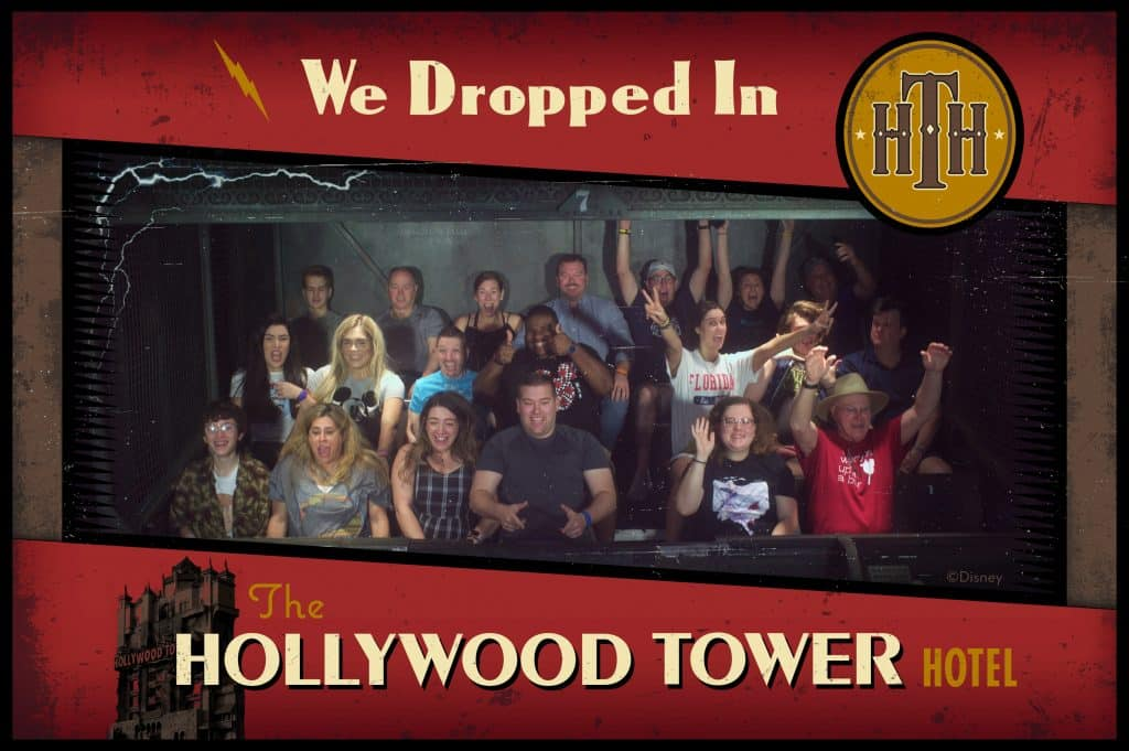 Megan & Mitchell on The Twilight Zone Tower of Terror | Walt Disney World, FL