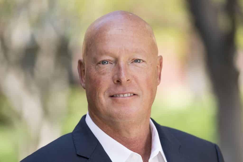 Walt Disney Company CEO Bob Chapek head shot photo