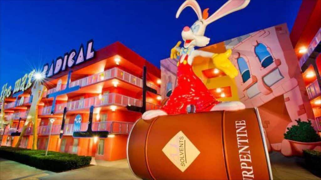 Disney's Pop Century Resort on the Disney Skyliner Route
