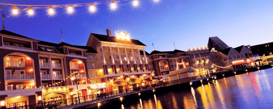 Disney's Boardwalk Inn located on the Disney Skyliner Route