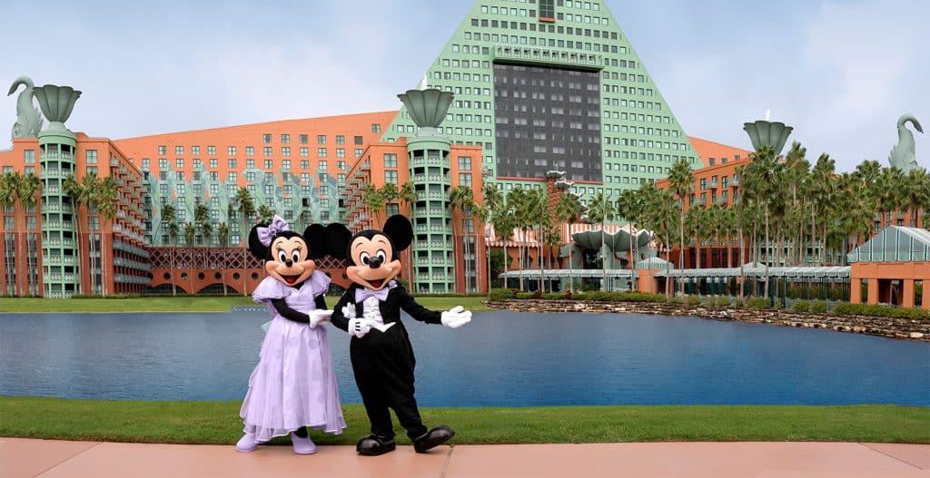 Walt Disney World Swan & Dolphin Hotels on the Disney Skyliner Route