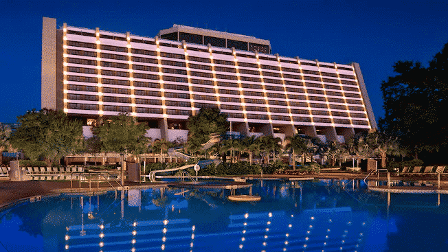 Disney's Contemporary Resort, ride the monorail at the best Disney hotel